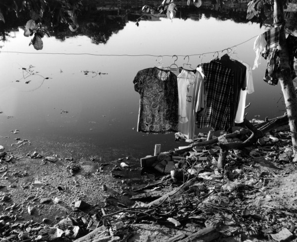 """out to dry mandalay 2013 toned gelatin silver print 40"""" x 49""""   18"""" x 22"""" edition of 3   5"""